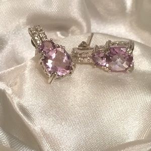 💜Genuine RDF Amethyst Earrings💜